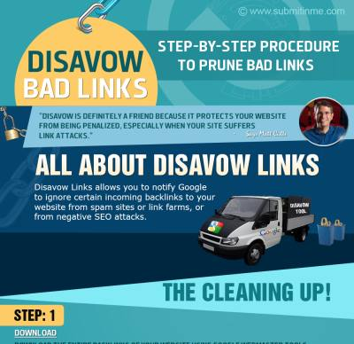 Disavow Tips - Infographic