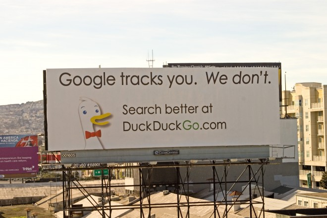 DuckDuckGo Billboard on Google