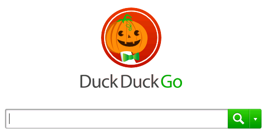 DuckDuckGoHalloween Home page 2012
