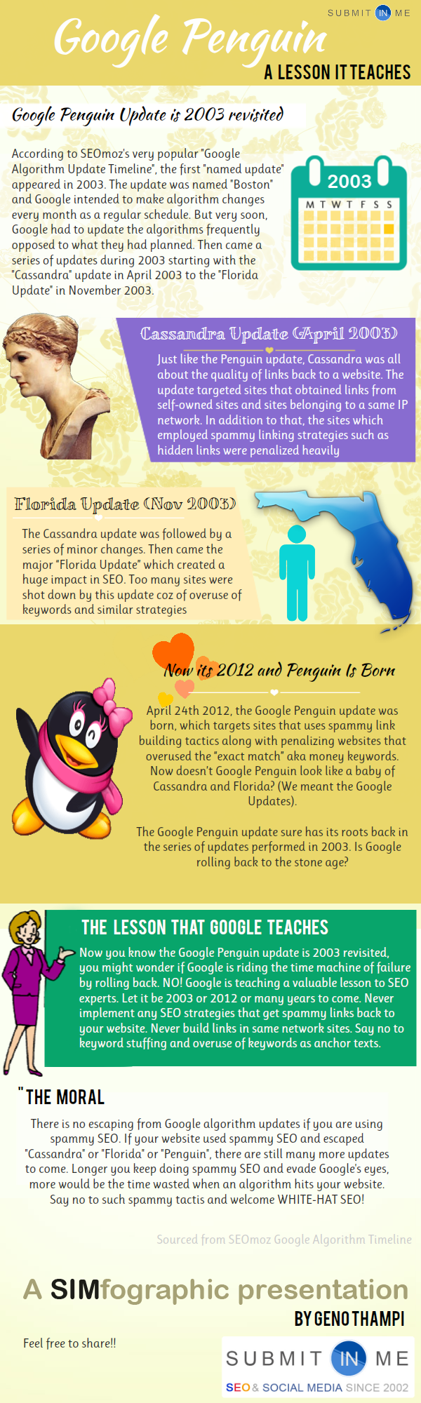 Google Penguin 2003 revisited