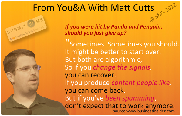 Matt Cutts a SMX
