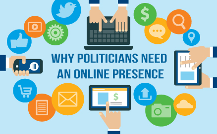 Why politicians should have an online presence
