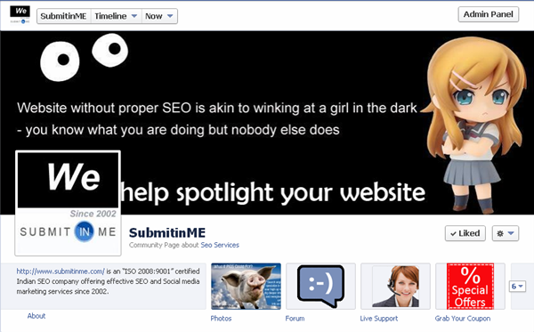 local seo facebook branding