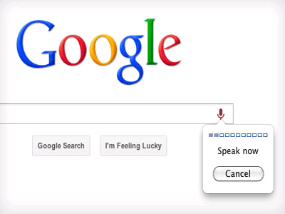 Google voice search for PC
