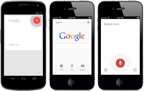 voice search google